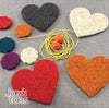 Joe's Toes  Heart and Flowers Bunting Kit  - Make a felt garland!