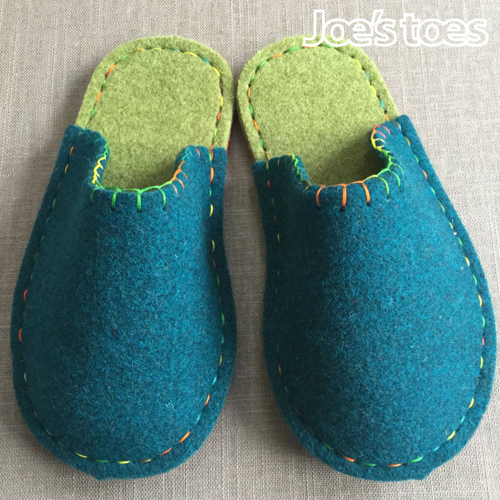Joe's Toes Felt Slipper Kit in Children's sizes