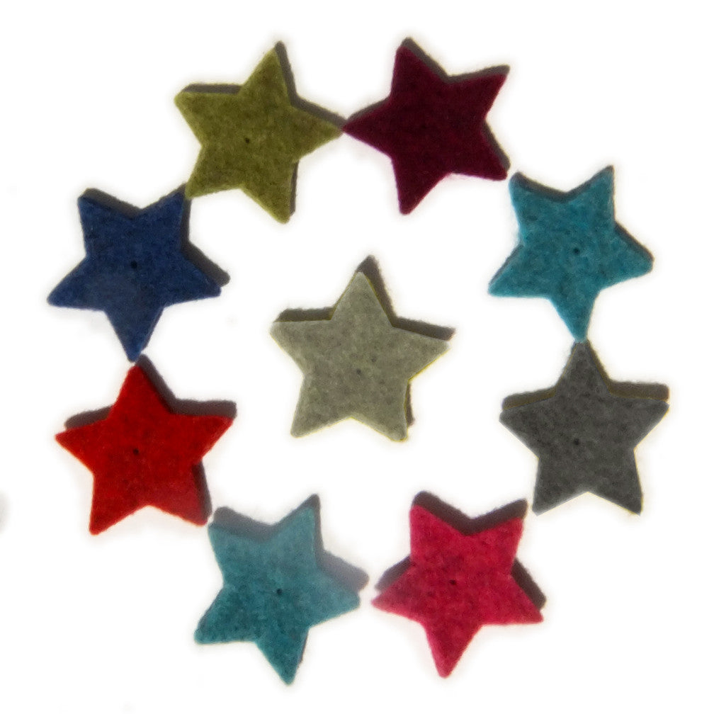 Thick Wool Felt Stars - Joe's Toes  - 1