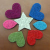 Set of Felt Colour Swatches - Joe's Toes  - 1