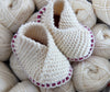 Baby Knitted Crossover Slipper Kit - Joe's Toes  - 9