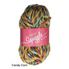 Squiggle Super Chunky Slipper Yarn - Joe's Toes Candy Corn - 6