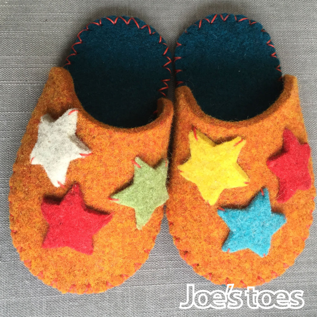 Star Slipper Kit in Children's sizes
