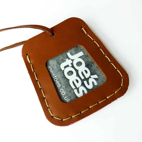 Luggage Tag Kit - available in seven colours - Joe's Toes  - 2