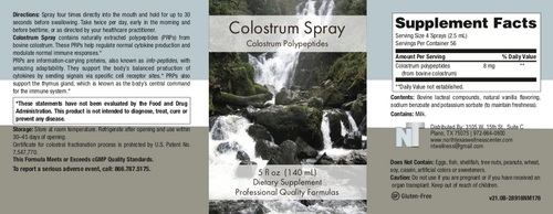 Colostrum Spray