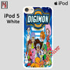 Digimon Digital Monsters For Ipod Touch 5 Case