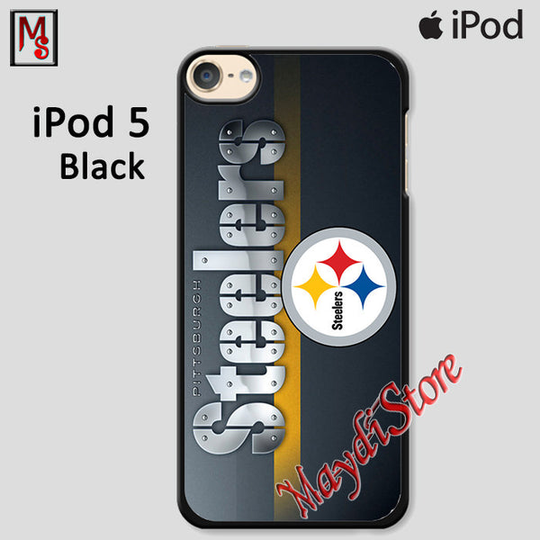 Logos And Uniforms Of The Pittsburgh Steelers For Ipod Touch 5 Case