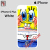 Spongebob Nails For Iphone 6 Plus Iphone 6S Plus Case