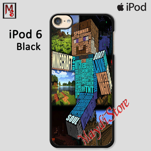 Minecraft For Ipod Touch 6 Case