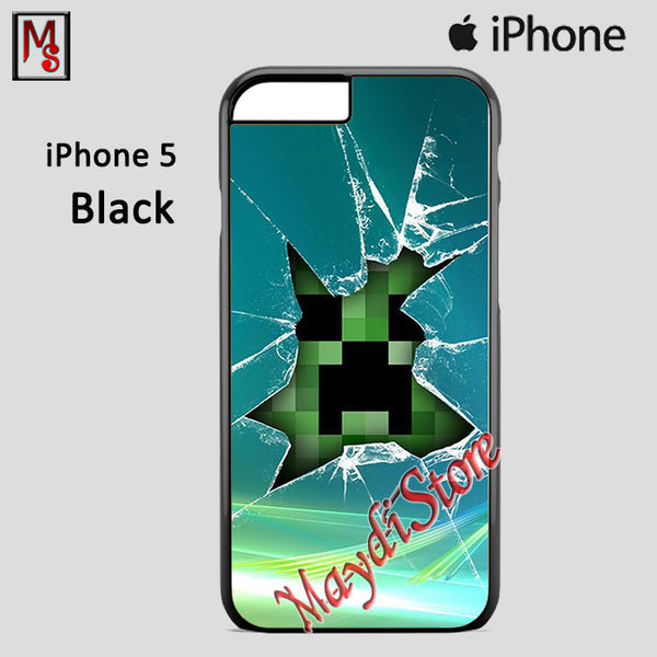 Broken Glass Minecraft For Iphone 5 Iphone 5S Iphone SE Case