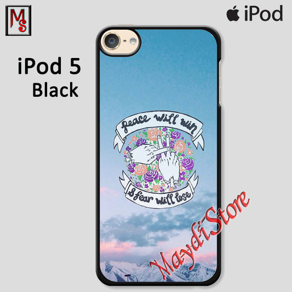 Twenty One Pilots Peace Will Win And Fear Will Lose For Ipod Touch 5 Case