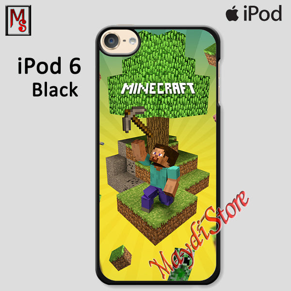 Minecraft Gold Digger For Ipod Touch 6 Case