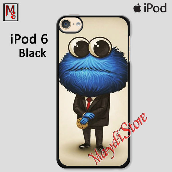 Cookie Monster In A Suit For Ipod Touch 6 Case