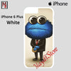 Cookie Monster In A Suit For Iphone 6 Plus Iphone 6S Plus Case