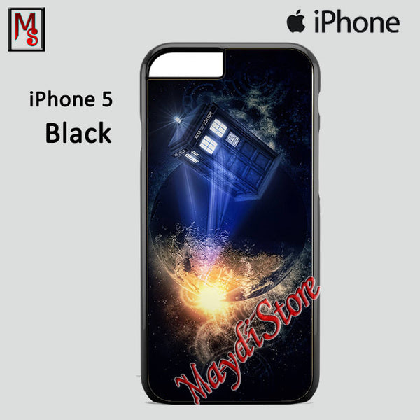 Atmosphere Police Box For Iphone 5 Iphone 5S Iphone SE Case