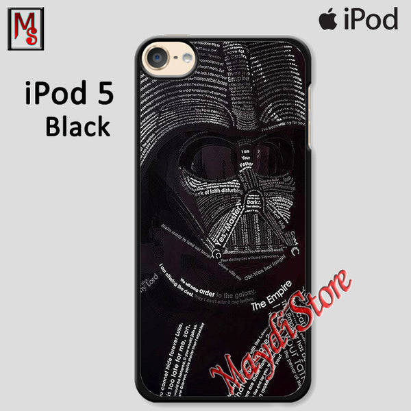 Darth Vader Anakin Star Wars For Ipod Touch 5 Case