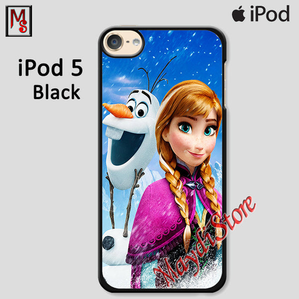 Frozen Anna And Olaf For Ipod Touch 5 Case