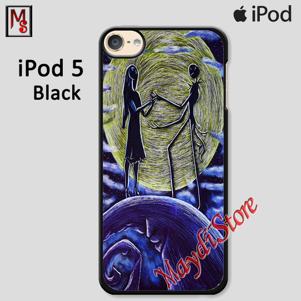Nightmare Before Christmas Jack And Sally For Ipod Touch 5 Case