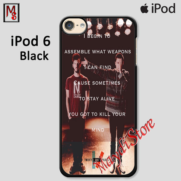 Migraine Twenty One Pilots For Ipod Touch 6 Case