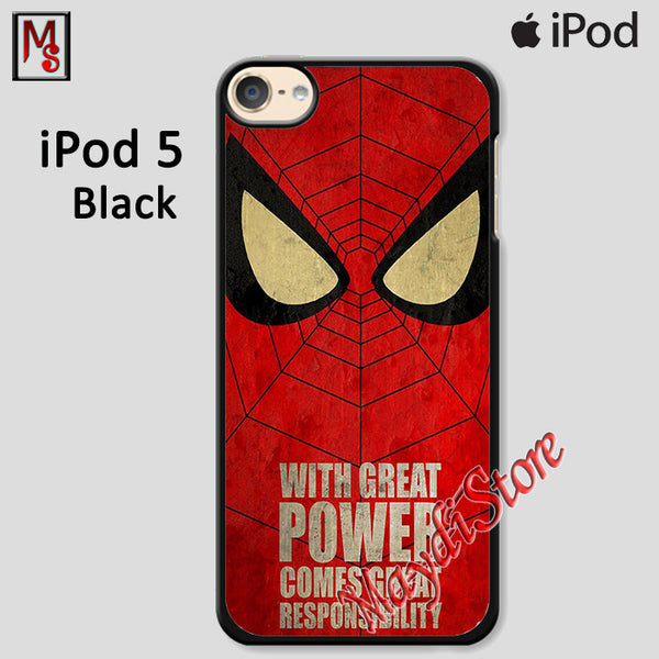 Great Power Comes Great Responsibility For Ipod Touch 5 Case