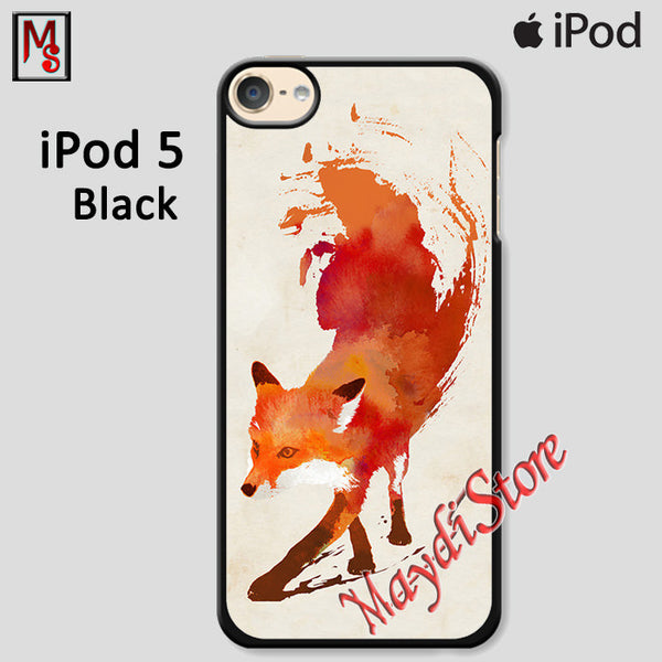 Jump Fox Art For Ipod Touch 5 Case