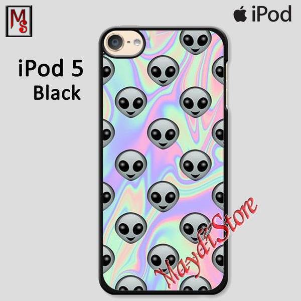 Alien Emoji For Ipod Touch 5 Case