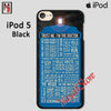 Doctor Who Quotes Trust Me Im Doctor For Ipod Touch 5 Case