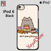 Pusheen The Cat Eat Every Thing For Ipod Touch 6 Case