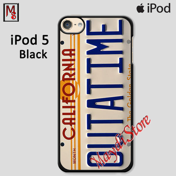 California Outatime For Ipod Touch 5 Case