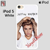 Justin Bieber Poster For Ipod Touch 5 Case