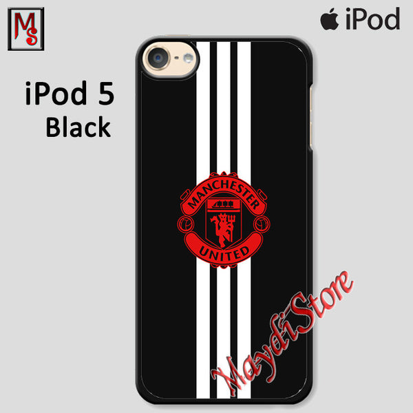 Manchester United Stripe Logo For Ipod Touch 5 Case