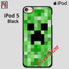 Minecraft Creeper For Ipod Touch 5 Case