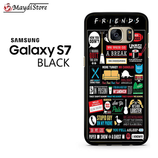 Friends Tv Series Poster For Samsung Galaxy S7 Case