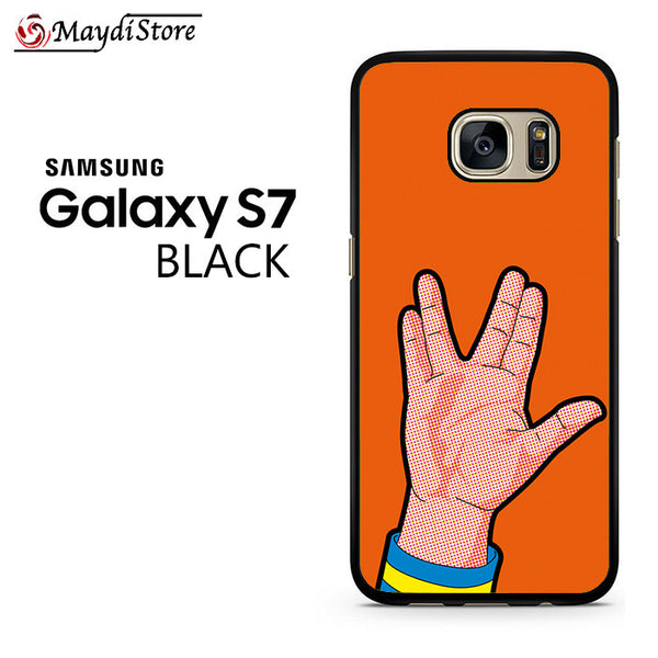 Live Long And Prosper Hand For Samsung Galaxy S7 Case