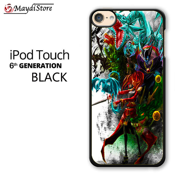 Anime Characters Collage For Ipod Touch 6 Case