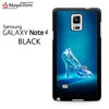 Cinderella Glass Slipper For Samsung Galaxy Note 4 Case