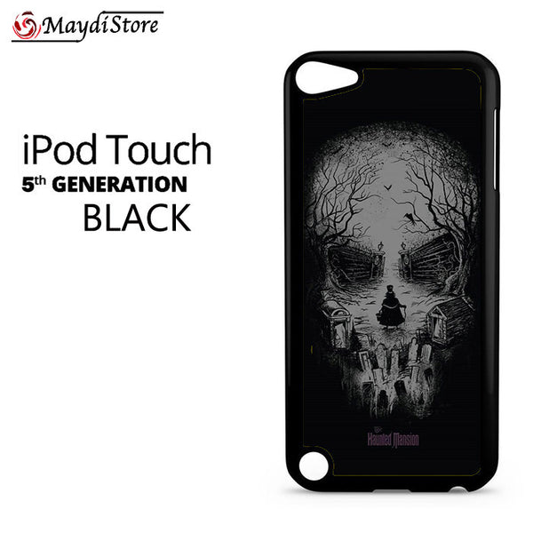 Disneyland Haunted Mansion Skull For Ipod Touch 5 Case