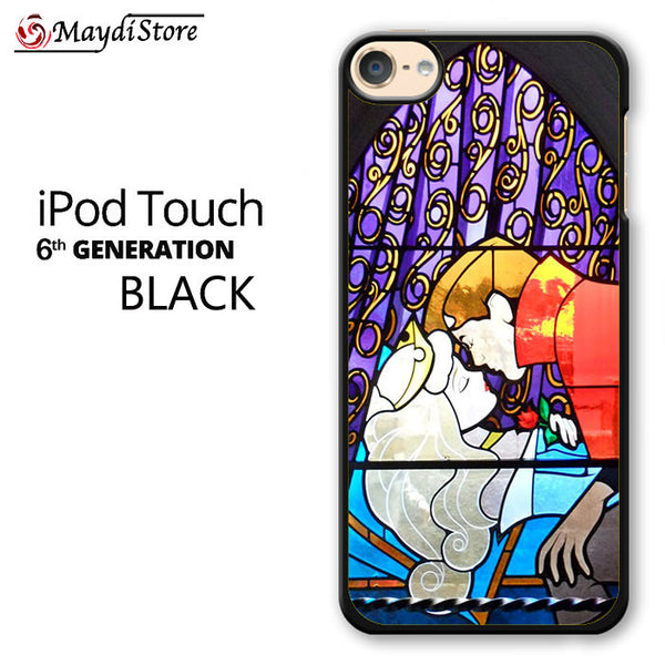 Sleeping Beauty Stained Glass For Ipod Touch 6 Case