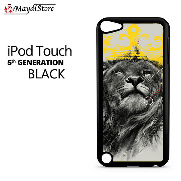 Lion King Illustration For Ipod Touch 5 Case
