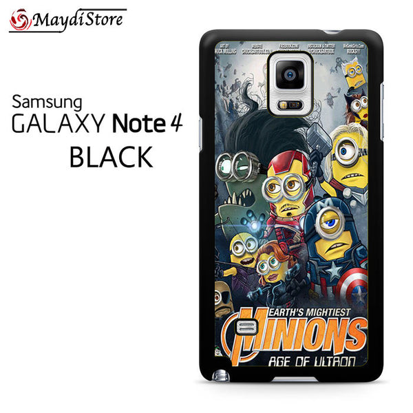 Minion Avengers For Samsung Galaxy Note 4 Case