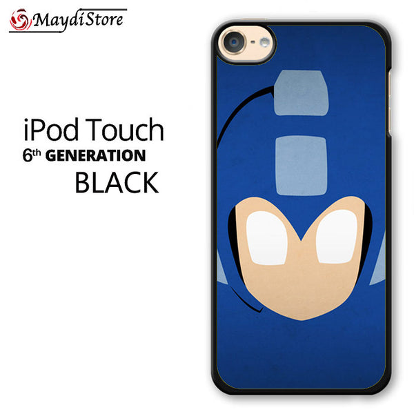Superheroes Mega Man Blue For Ipod Touch 6 Case