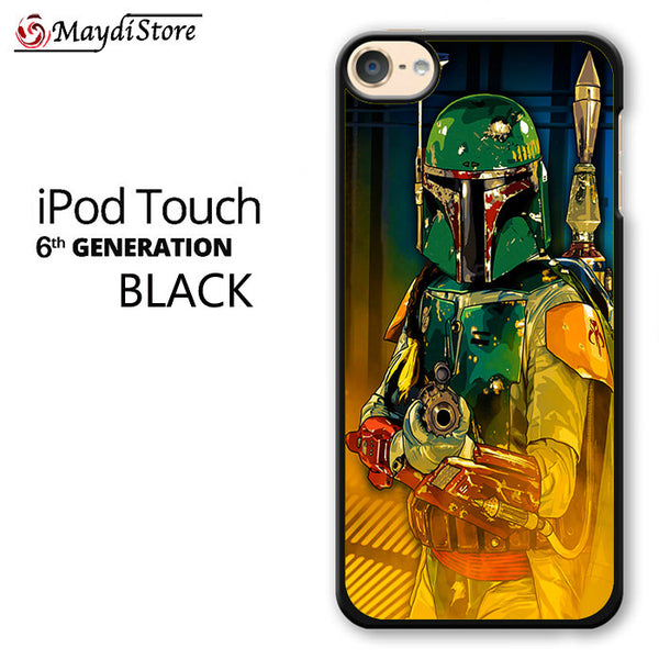 Star Wars Boba Fett Guard For Ipod Touch 6 Case