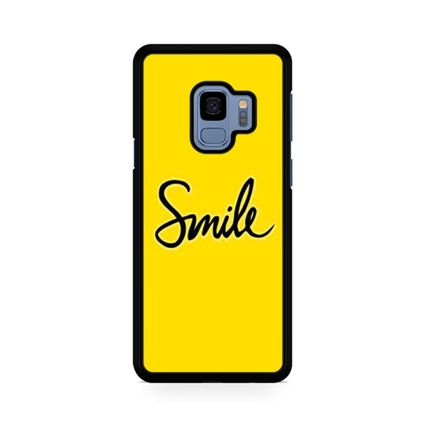 Smile Yellow For Samsung Galaxy S9
