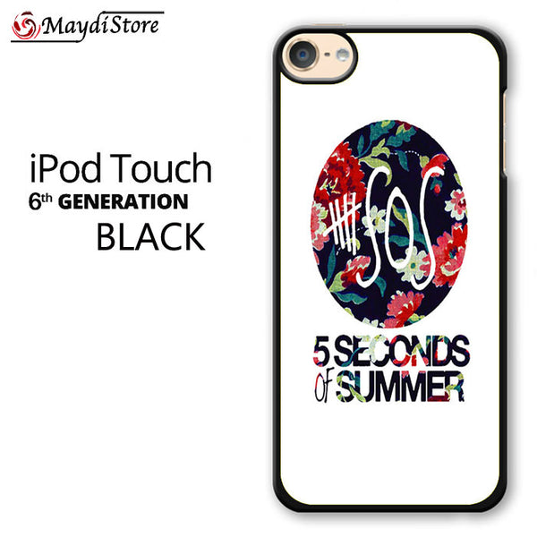 5 Second Of Summer Floral For Ipod Touch 6 Case