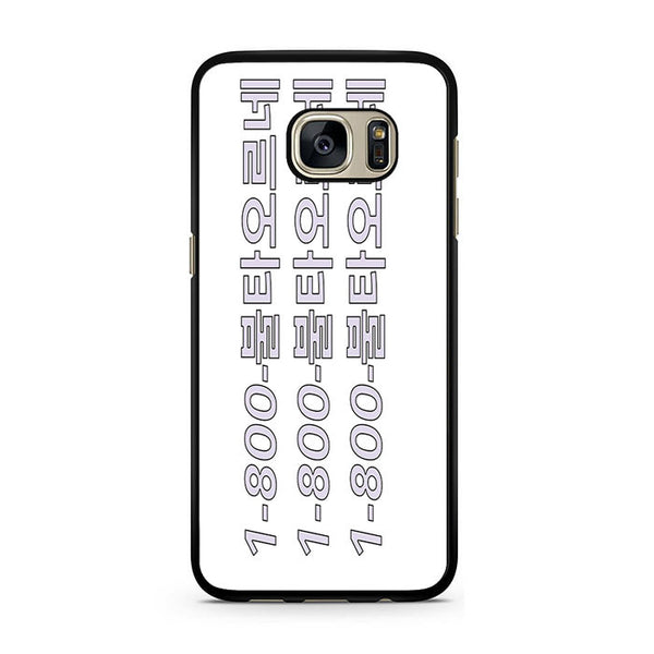 1-800-Dope For Samsung Galaxy S7 Case