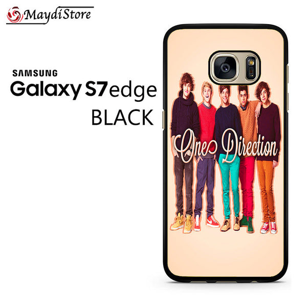 1D One Direction Personnel For Samsung Galaxy S7 Edge Case
