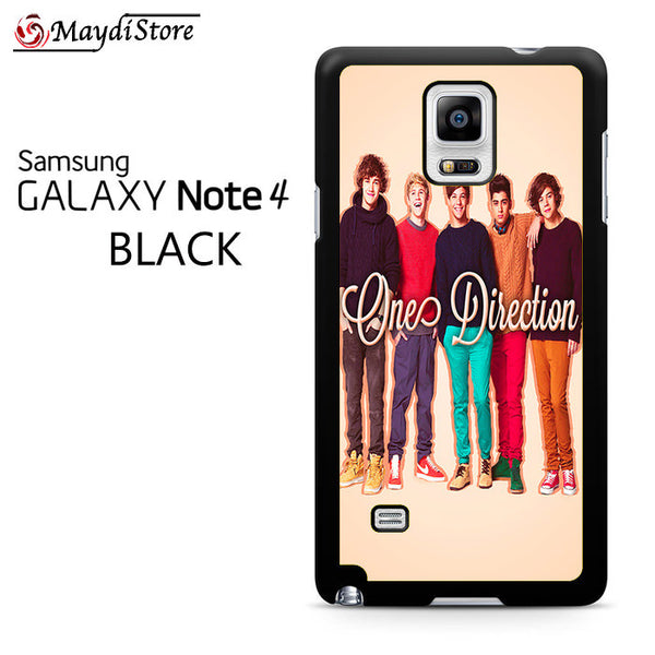 1D One Direction Personnel For Samsung Galaxy Note 4 Case