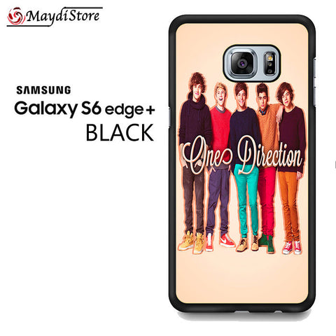 1D One Direction Personnel For Samsung Galaxy S6 Edge Plus Case