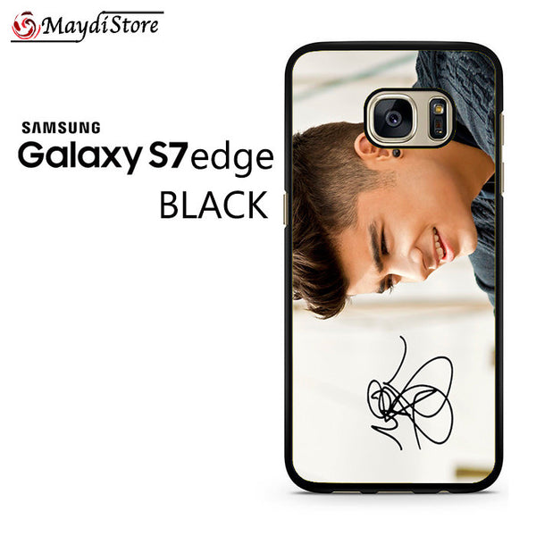 1D Zayn Malik Signature For Samsung Galaxy S7 Edge Case