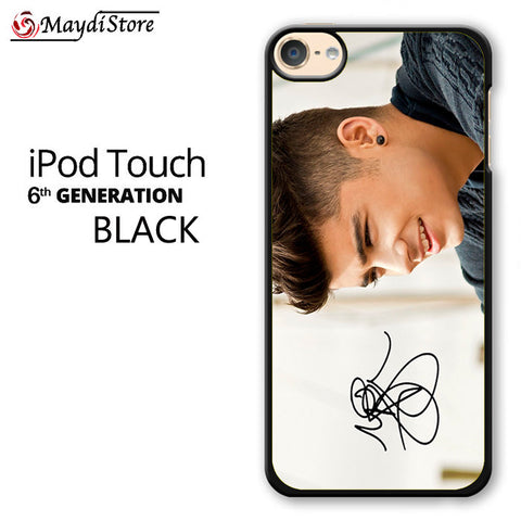 1D Zayn Malik Signature For Ipod Touch 6 Case